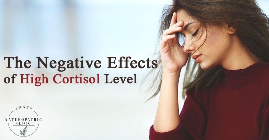 the level of negative effects of