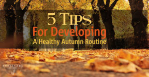 Healthy Autumn Routine Tips | Annex Naturopathic Clinic | Toronto Naturopathic Doctors