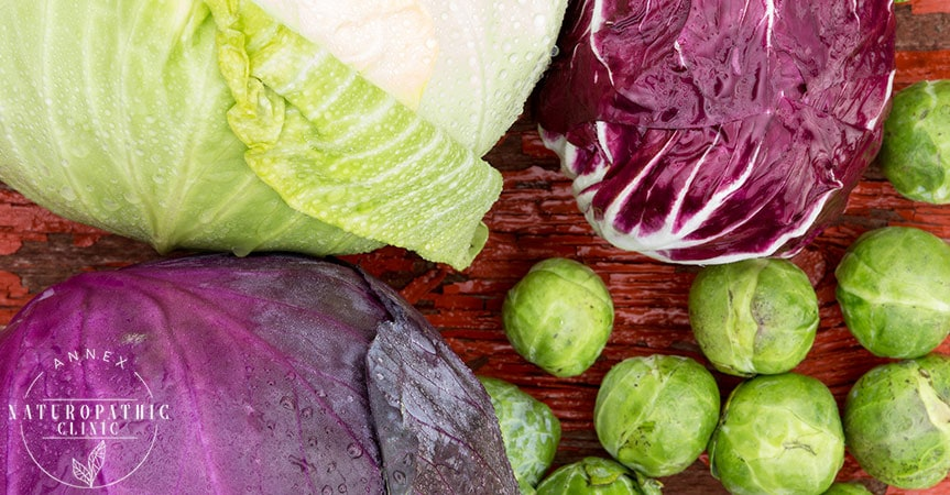 Cabbage Brussel Sprouts Cruciferous Vegatables are good for your heart | Annex Naturopathic Clinic | Toronto Naturopathic Doctors
