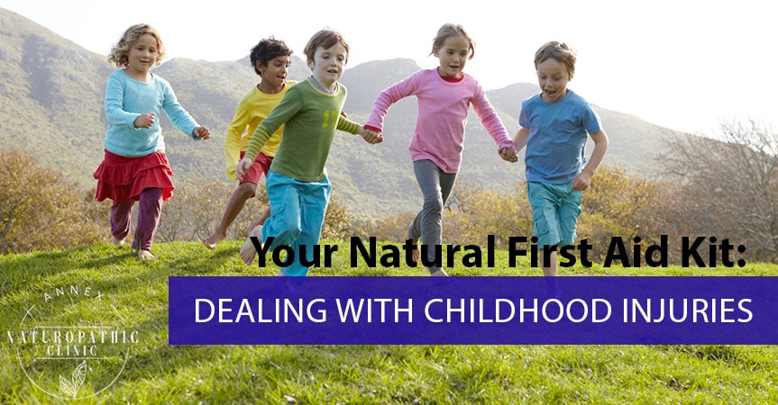 Your Natural First Aid Kid: Dealing With Childhood Injuries | Annex Naturopathic Clinic | Toronto Naturopathic Doctors