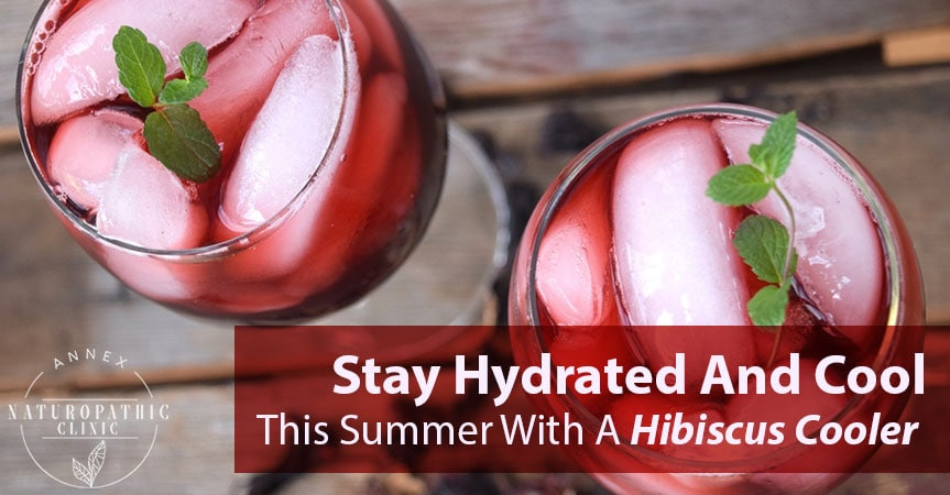 Stay Hydrated And Cool This Summer With A Hibiscus Cooler ...