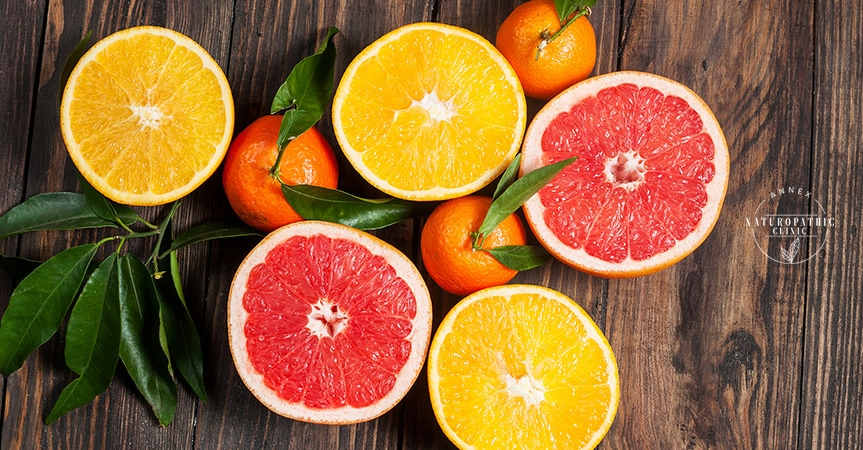 citrus fruit and vitamin C rich foods for immune system boosting | Annex Naturopathic Clinic | Toronto Naturopathic Doctors