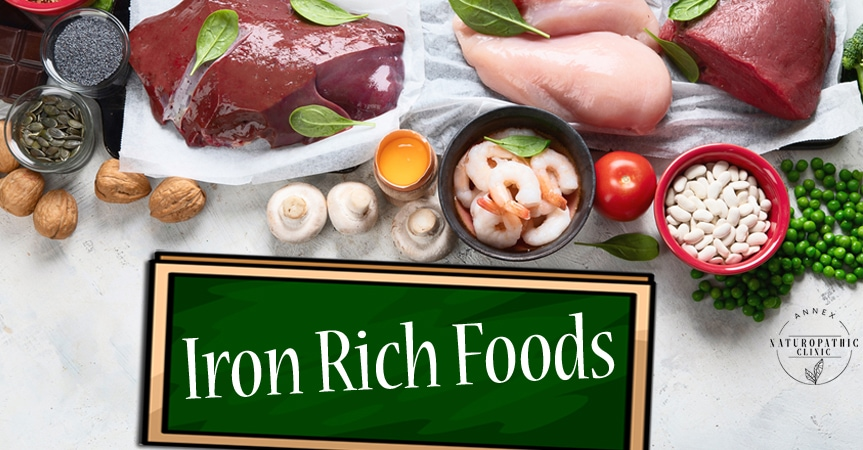 foods rich in iron for male pattern baldness | Annex Naturopathic Clinic | Toronto Naturopathic Doctors