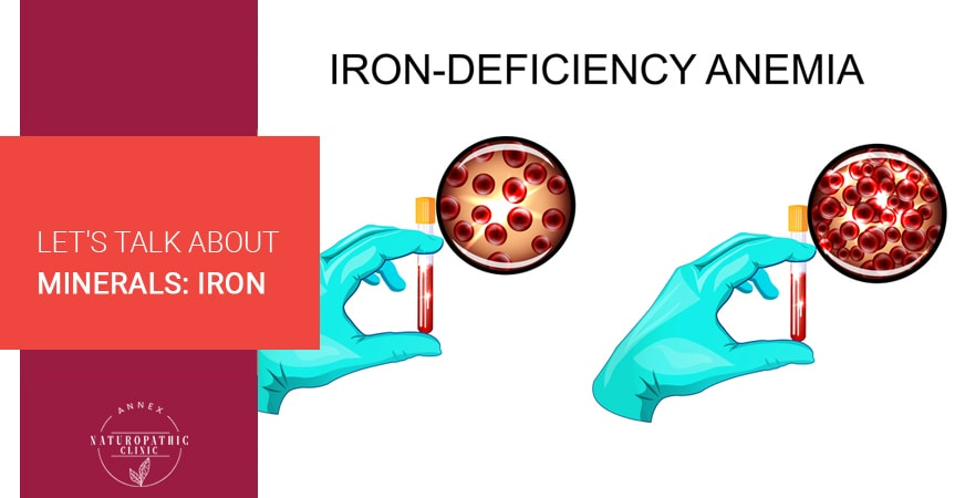 Let's Talk About Minerals: Iron | Annex Naturopathic Clinic | Toronto Naturopathic Doctors