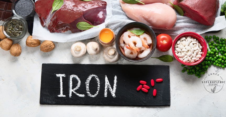 Iron rich foods for menstrual health   Annex Naturopathic Clinic   Toronto Naturopathic Doctors